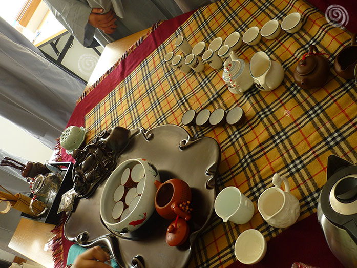 Ceremonia del te en Asia