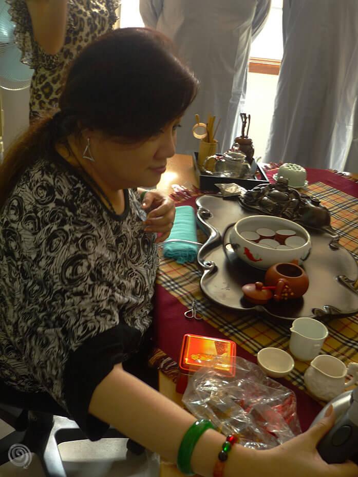 tea ceremony in Asia (Philippines)