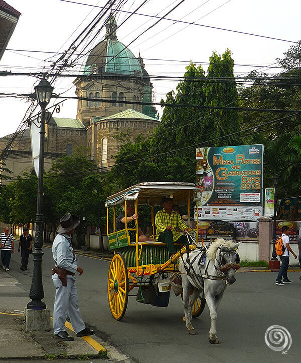 Manila Intramuros caballos