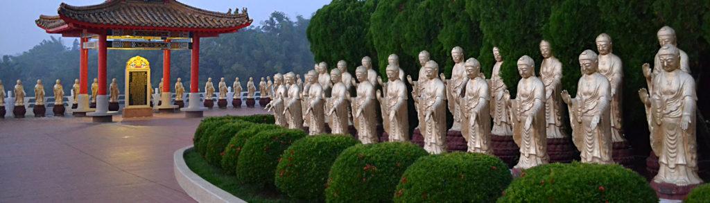 Viajes por Asia a través del budismo