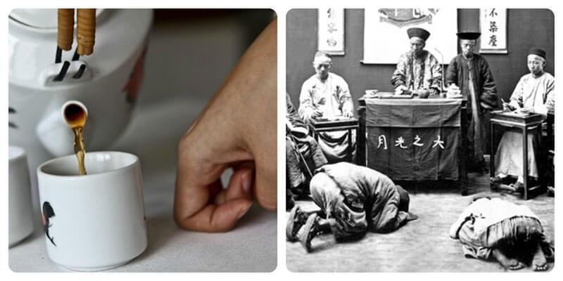 Chinese tea ritual