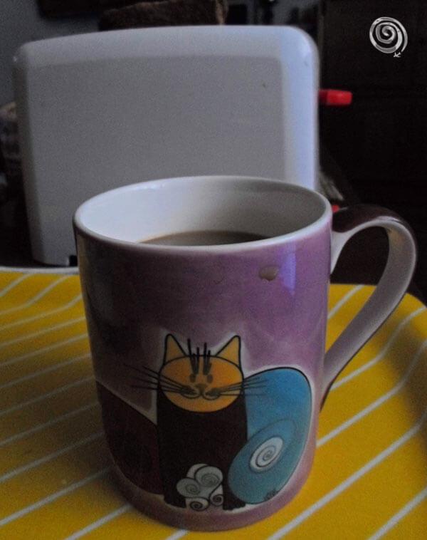 taza de café en Asia