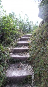 Stairs up to Buscalan