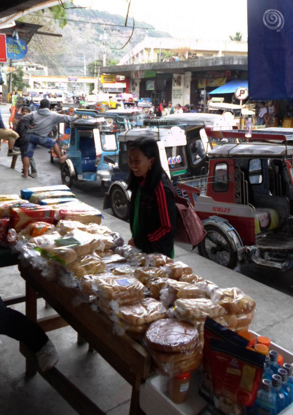 Parada en Bontoc antes de ir a Sagada