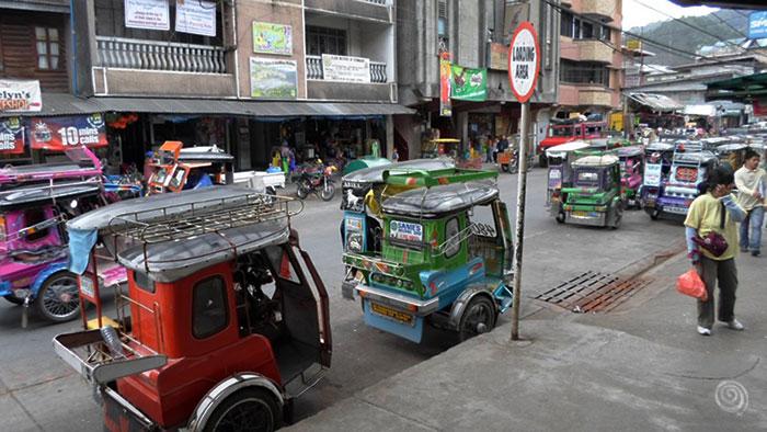 viajar de Bontoc a Sagada (ataúdes colgantes)