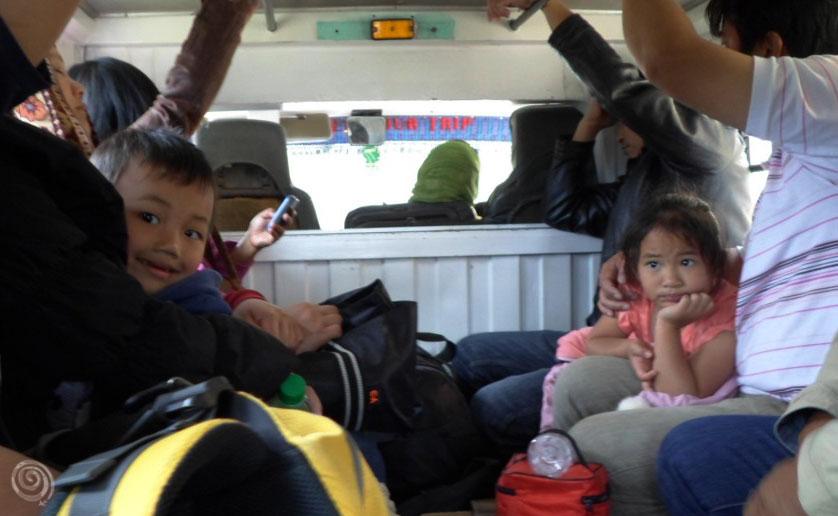 llegar a Sagada en jeepney