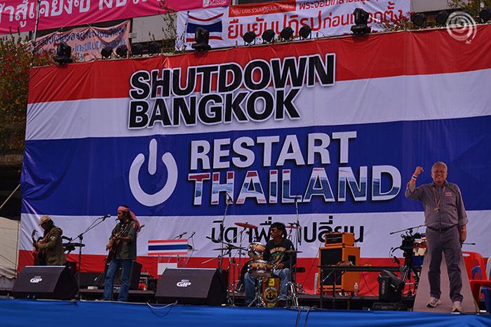 Bangkok Shutdown Thailand