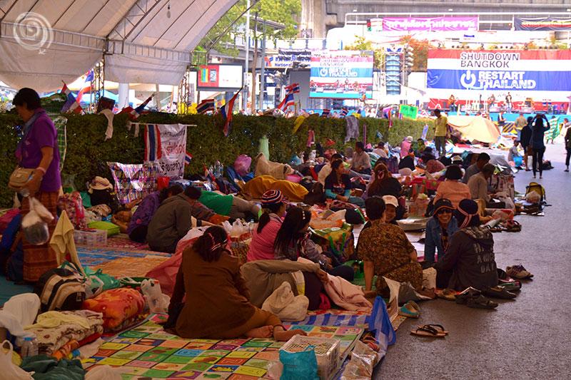 Bangkok Thailand Protest