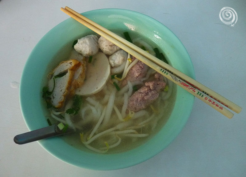 Thai food noodles