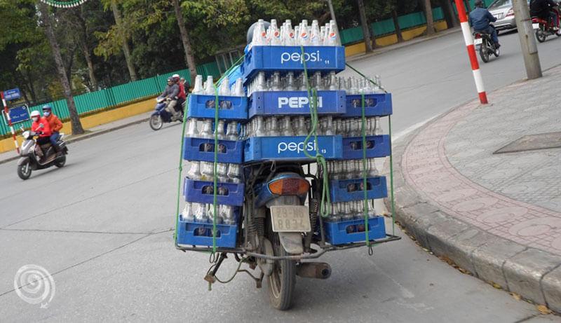Transporte más común en Vietnam