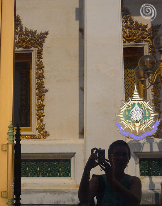 Grand Palace Thailand selfie