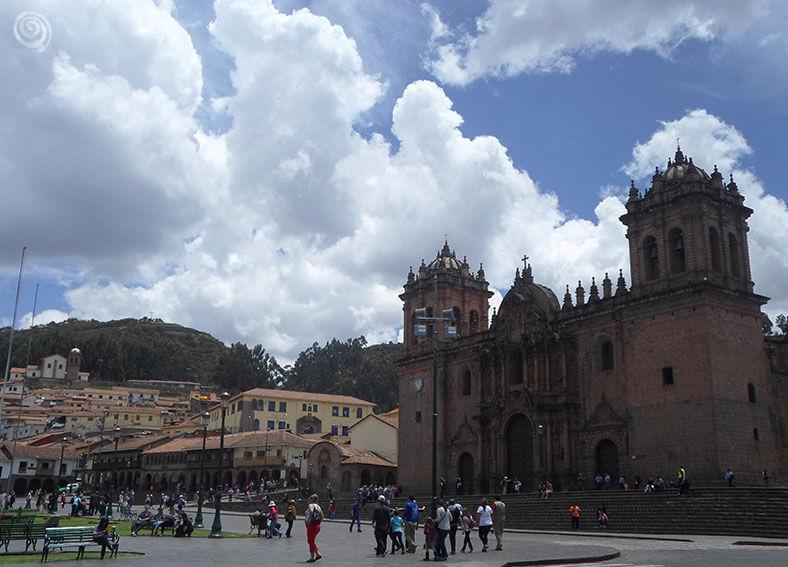 Plaza de armas en Cusco (Cuzco)