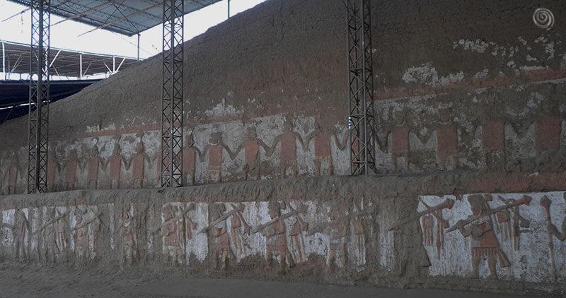Cultura moches Perú ruinas