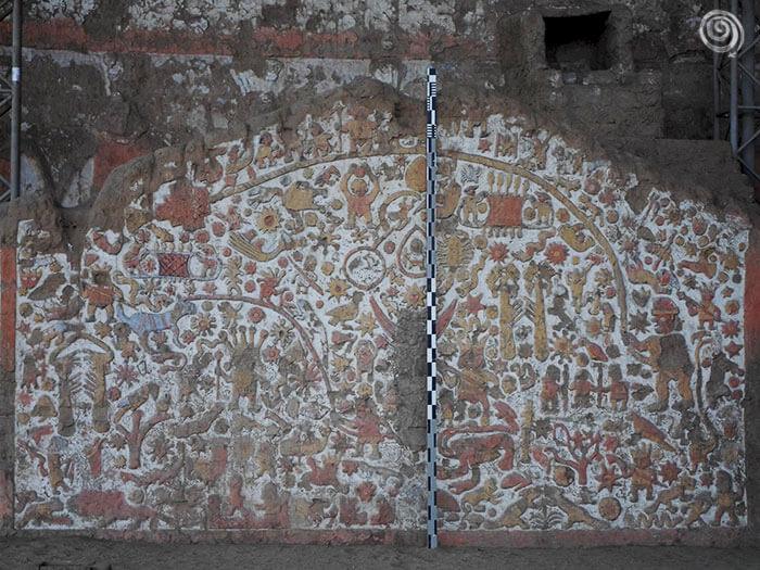 Ruinas Huaca de la Luna en Trujillo