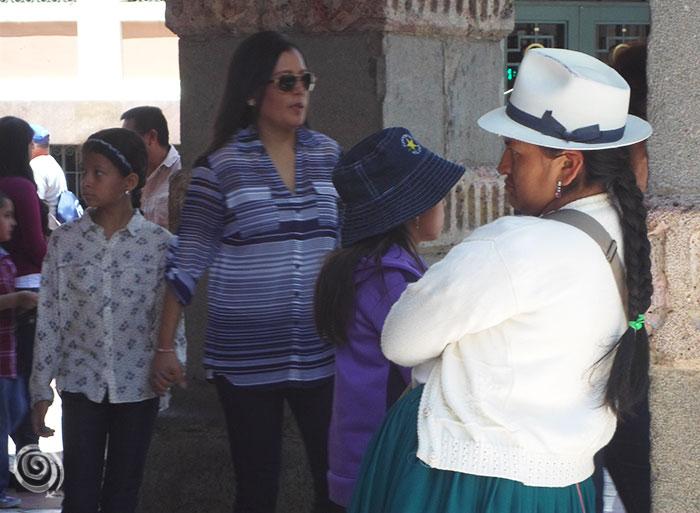 Indigena en Cuenca (Ecuador)