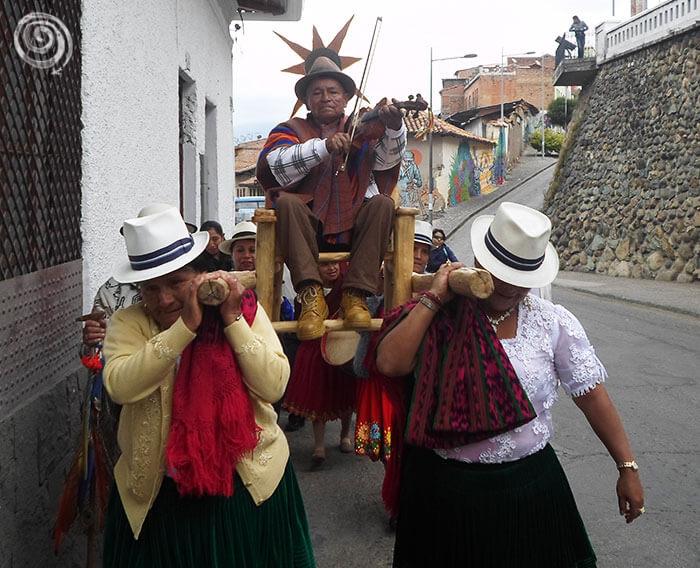 Festividad en Cuenca, Ecuador