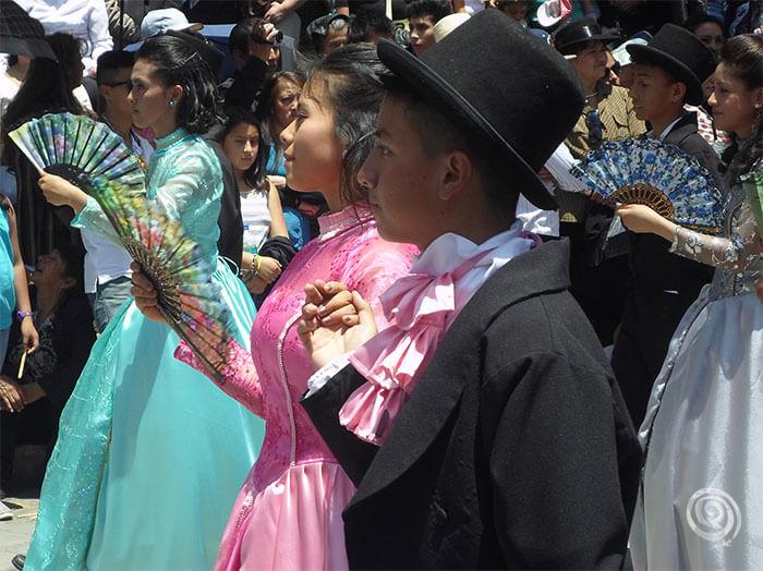 Festival en Cuenca (Ecuador)