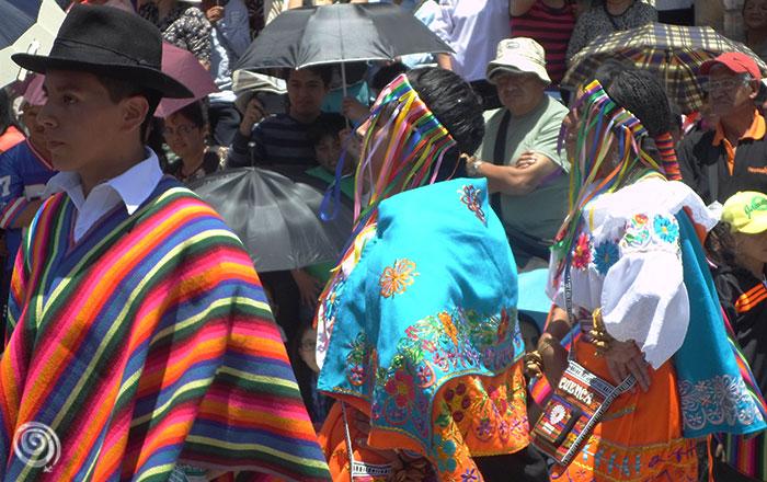Traje típico Ecuador