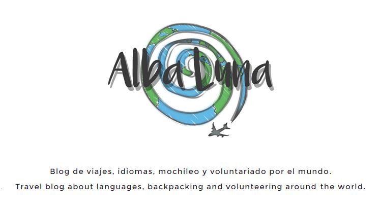 Logo del blog Alba Luna viajes
