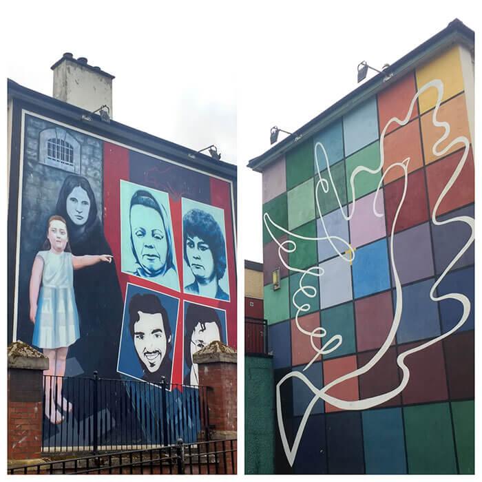 murales irlanda norte