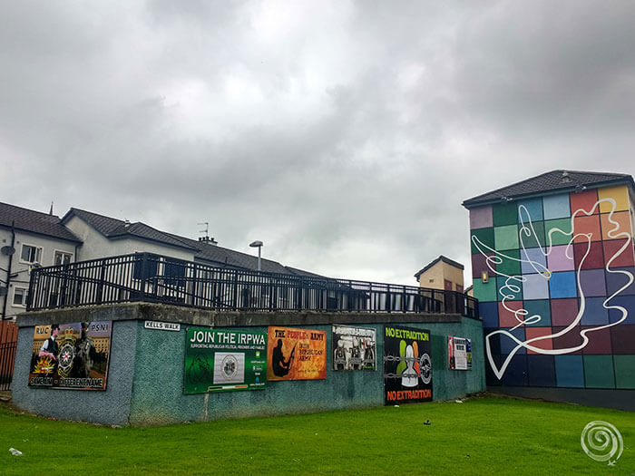 murales Derry Irlanda Norte