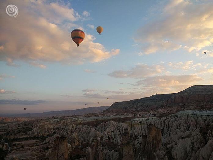 Mi viaje en globo por Cappadocia