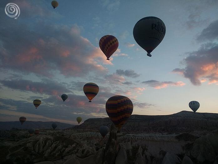 Capadocia viaje en globo
