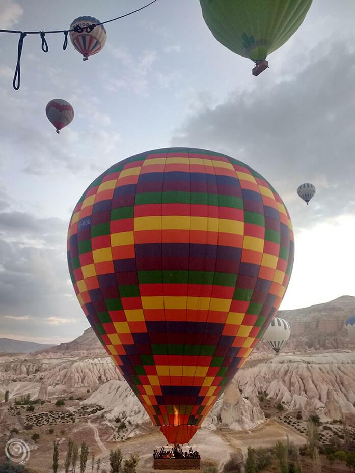 cappadocia viaje globo