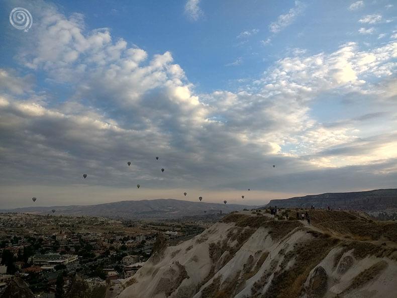 cómo hacer para volar en globo en Capadocia