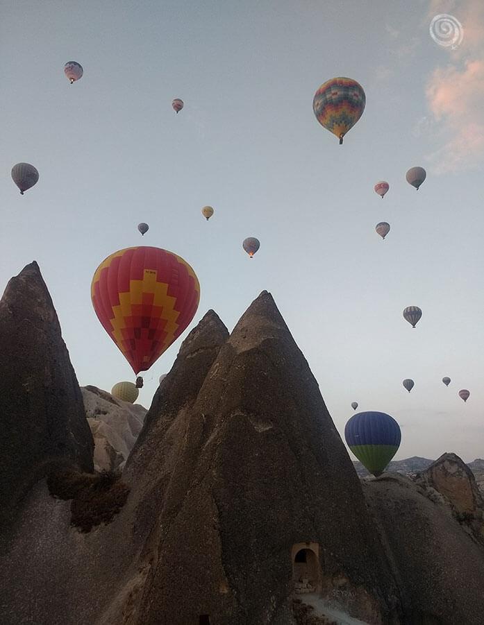 Turismo en Turquia Capadocia