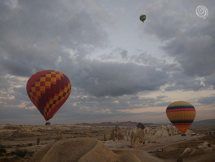 viaje en globo en Turquía