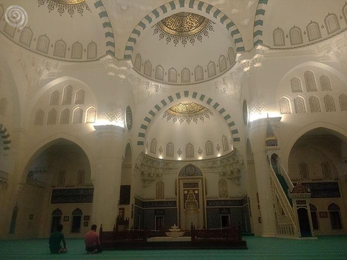 la mezquita más grande de Ankara