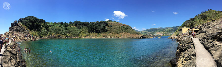 Playas en las Islas Azores