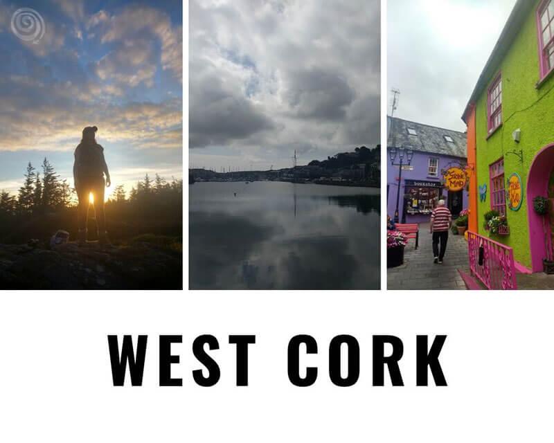 Viajar oeste de Irlanda
