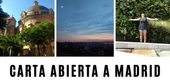 TIempo Madrid Carta