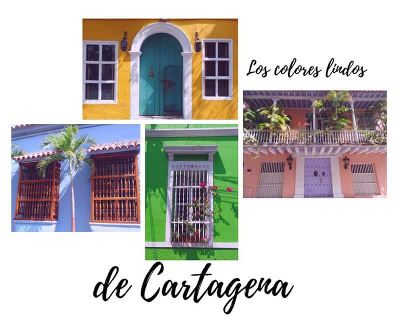 fachadas coloniales Cartagena