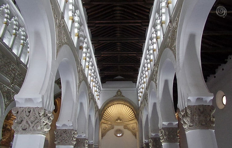 White Synagogue in Spain