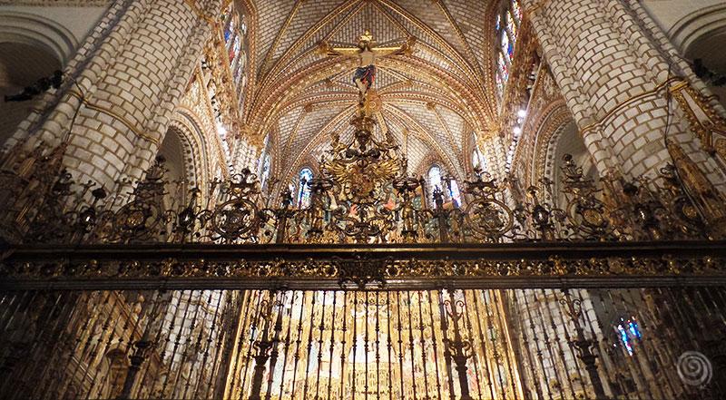 Jesus in Cathedral of Toledo in Spain