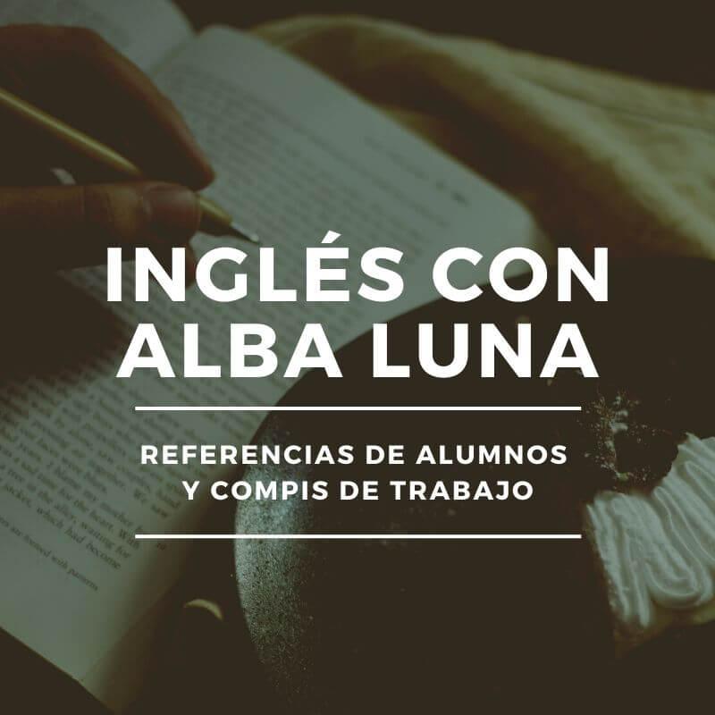 clases ingles Alba Luna