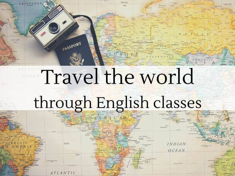 Learn English travelling
