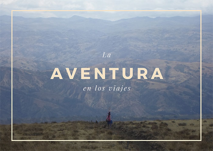 aventura en tu viajes