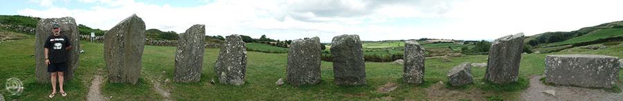 círculo de piedra en Irlanda
