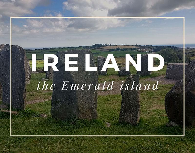 Travel to Ireland (road trip)