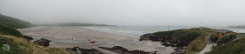 playa y acantilado de oeste de Irlanda (West Cork)