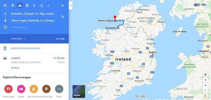 Viajar en coche por Irlanda