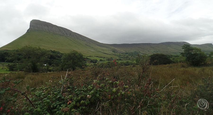 Montañas Benbulbin Irlanda