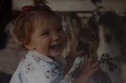 Alba sonriéndole a la vida// Alba smiling at thw world