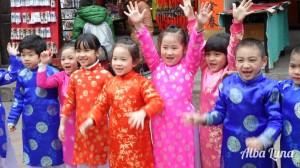 Vietnamese happiness / Felicidad vietnamita